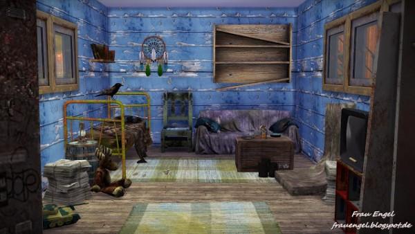 Frau Engel Outcast House  Sims 4 Downloads