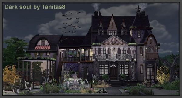 Tanitas Sims Dark soul house  Sims 4 Downloads