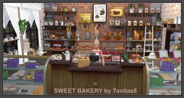 Tanitas Sims Sweet bakery  Sims 4 Downloads