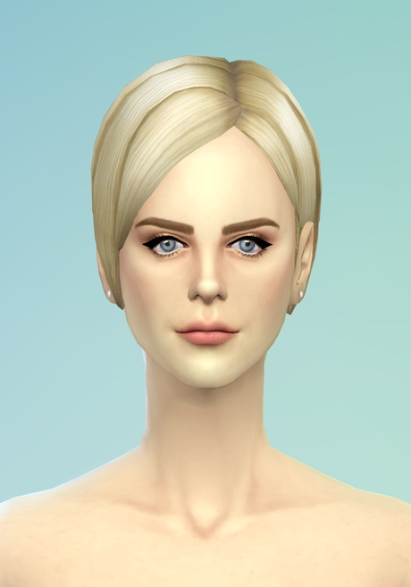 Rusty Nail Bangs Side Swept Edit V3 Sims 4 Downloads