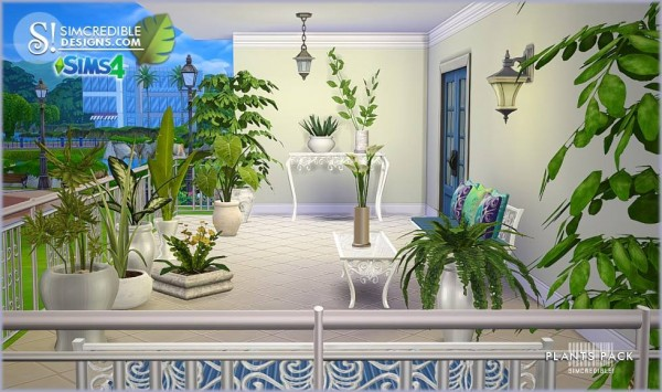 living room plant decor tiles ideas simcredible designs: plants pack • sims 4 downloads