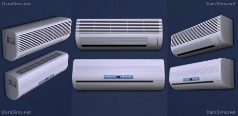 Dara Sims Air conditioners  Sims 4 Downloads