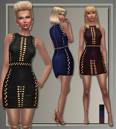 All About Style Balmain Holiday Party Outfits  Sims 4 Downloads
