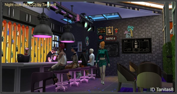 Tanitas Sims Night Club  Sims 4 Downloads