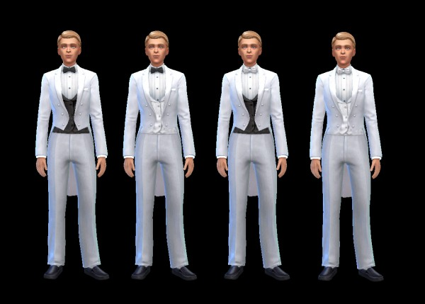History Lovers Sims Blog Mens Tuxedos  Sims 4 Downloads