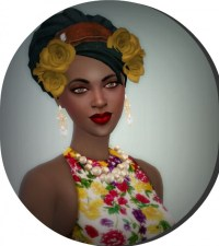 Les Sims 4 Passion: Mahalia M'Boue  Sims 4 Downloads