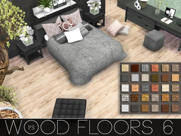 The Sims Resource Wood Floors 6 by Pralinesims  Sims 4 Downloads