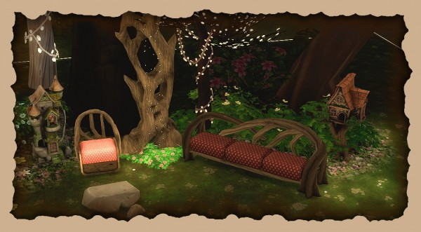 Sims 4 Designs Supernatural Fairy Living  Sims 4 Downloads
