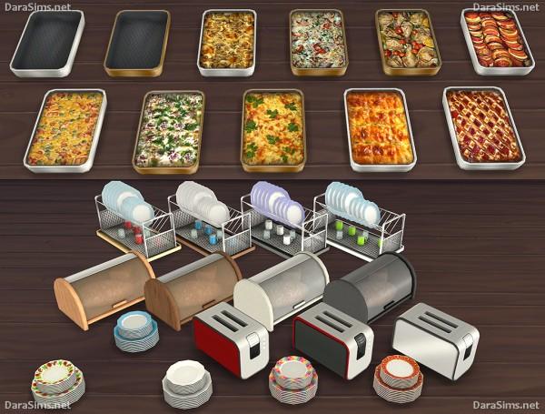 Dara Sims Kitchen Decor Set  Sims 4 Downloads