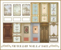 Sims 4 Designs: Victorian Walls Pack  Sims 4 Downloads