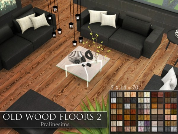 The Sims Resource Old Wood Floors 2 by Pralinesims  Sims 4 Downloads
