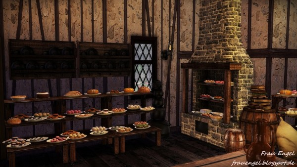 Anime Dragon Wallpaper Frau Engel Medieval Bakery Sims 4 Downloads