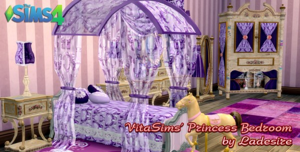 Ladesire Creative Corner VitaSims Princess Bedroom