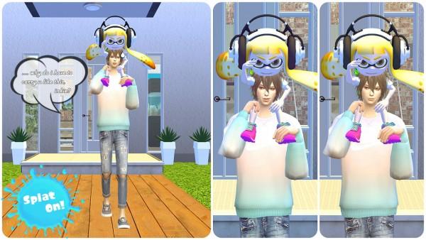 Flower Chamber Splatoon Poses Sims 4 Downloads