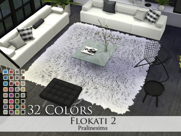 The Sims Resource Flokati 2 rugs by Pralinesims  Sims 4 Downloads