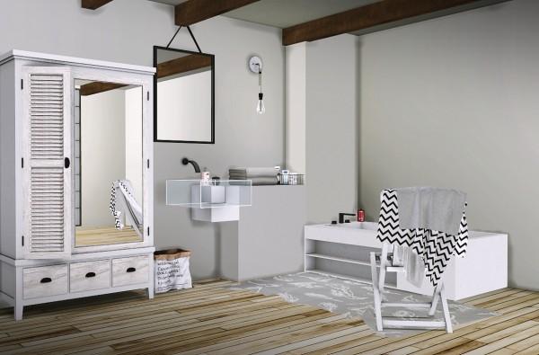 MXIMS Ake Bathroom  Sims 4 Downloads