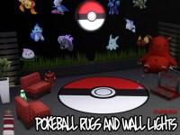 Akisima Sims Blog: Pokemon Carpets & Wall Lamps  Sims 4