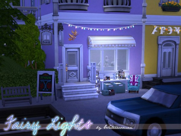 Akisima Sims Blog Fairy Lights Sims 4 Downloads