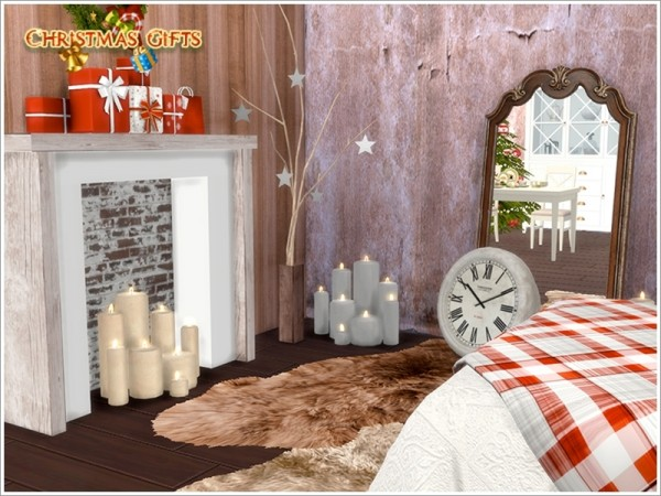 The Sims Resource Christmas Bedroom by Severinka  Sims 4