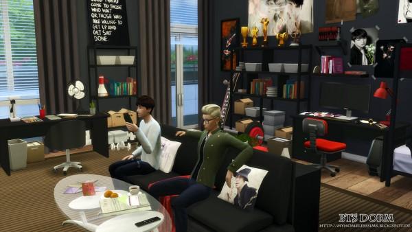 Homeless Sims Bangtan boys house  Sims 4 Downloads