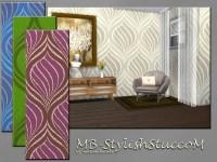 The Sims Resource: Stylish Stucco M by matomibotaki  Sims ...