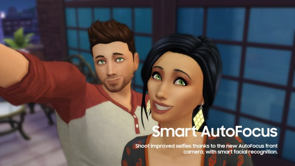 Mod The Sims Samsung GALAXY S8 by littledica  Sims 4