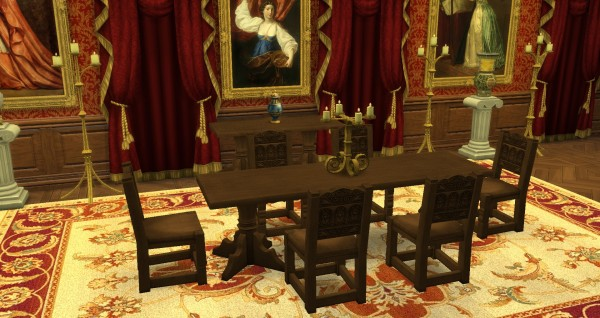 Mod The Sims Medieval Set By TheJim07 Sims 4 Downloads