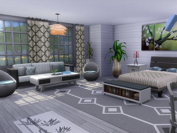 The Sims Resource Luxury Beach House by MychQQQ  Sims 4 Downloads