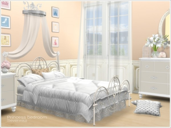 The Sims Resource Princess Bedroom by Severinka  Sims 4 Downloads