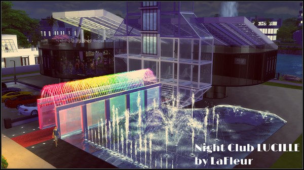 Lafleur 4 Sims Night Club LUCILLE  Sims 4 Downloads