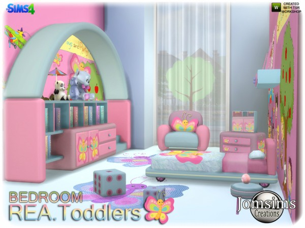 The Sims Resource Rea toddlers bedroom by jomsims  Sims