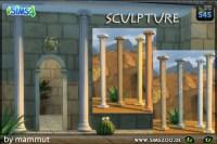 Blackys Sims 4 Zoo: Roman Column M by mammut  Sims 4 ...