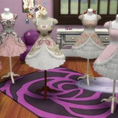 Toddler Chair With Name Big Soft Bean Bag Chairs Simsworkshop: Pocci Lolita Dress On Mannequin By Biguglyhag • Sims 4 Downloads