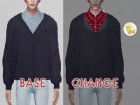 The Sims Resource: Sweater 02 M by KK Sims  Sims 4 Downloads