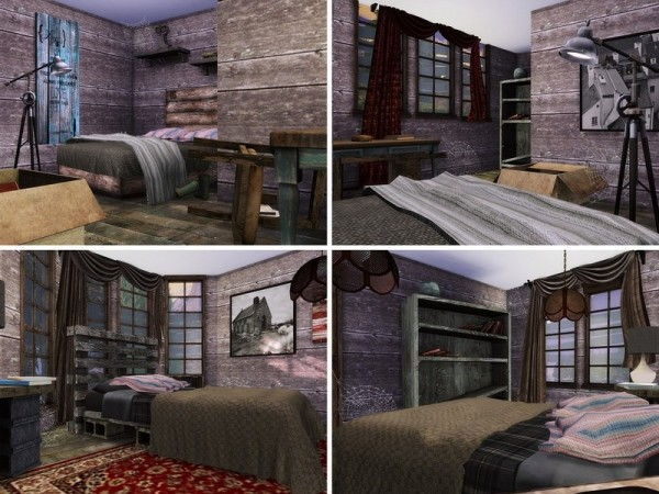 The Sims Resource Abandoned House by MychQQQ  Sims 4