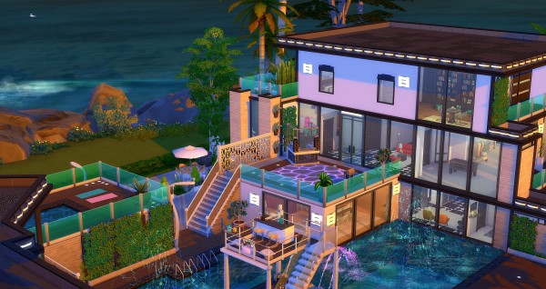 Studio Sims Creation Carabes house  Sims 4 Downloads
