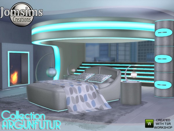The Sims Resource Argunfutur Bedroom Led And Reflections
