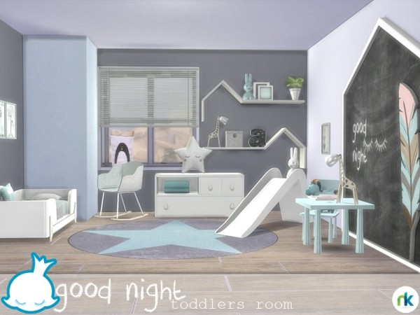 The Sims Resource Good Night Toddlers Room by nikadema