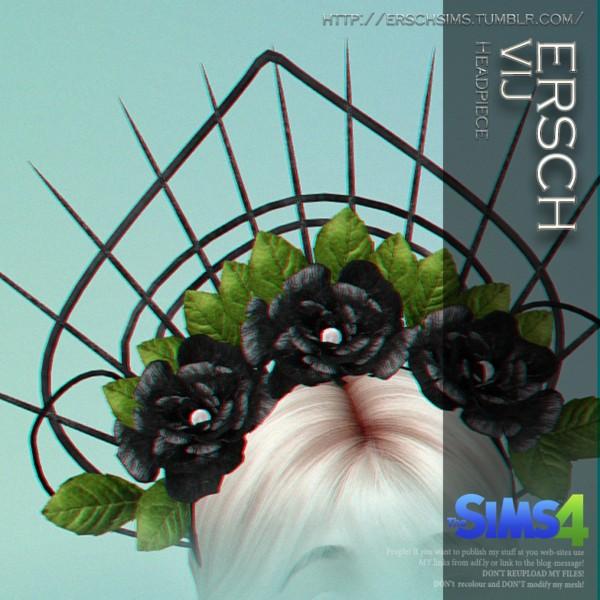 ErSch Sims VIJ Headpiece Sims 4 Downloads