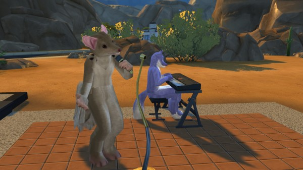 Mod The Sims Fursuit Costume Set by LilyValley807  Sims