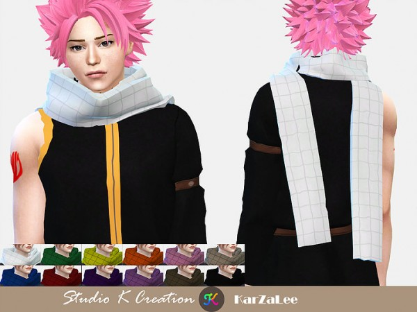 Studio K Creation Fairy Tail Natsu Dragneels outfit