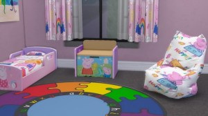 peppa pig rosy blooming toddler