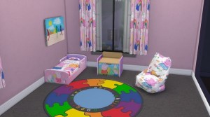 pig peppa rosy blooming toddler rooms