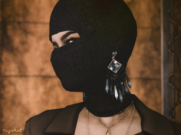 Gas Mask Girl Wallpaper The Sims Resource Ski Mask By Magnolia C Sims 4 Downloads