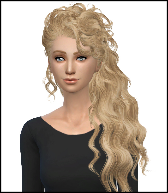 Sims 4 Hairs  Simista Newsea`s Disco Hairstyle Converted