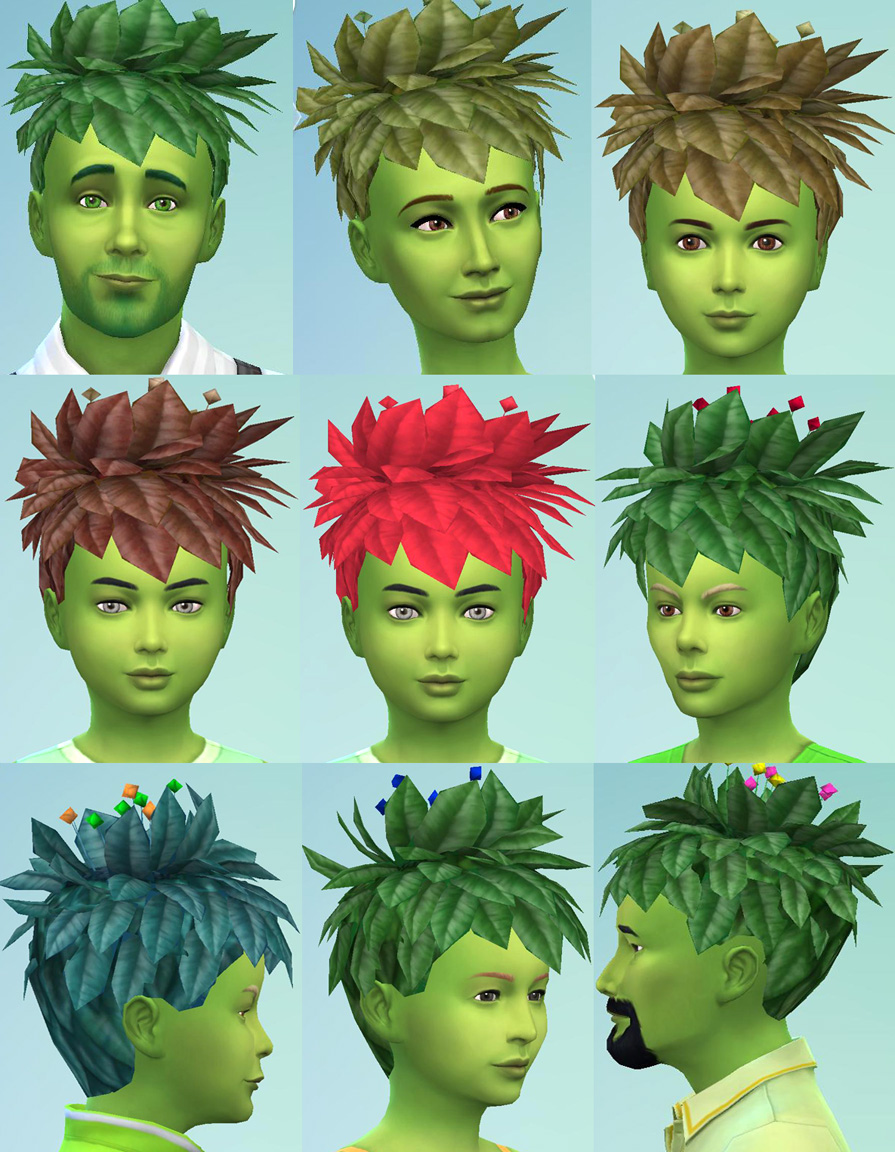 Sims 4 Hairs  Mod The Sims Plantsim sims 2 Hairstyle Conversion by Esmeralda