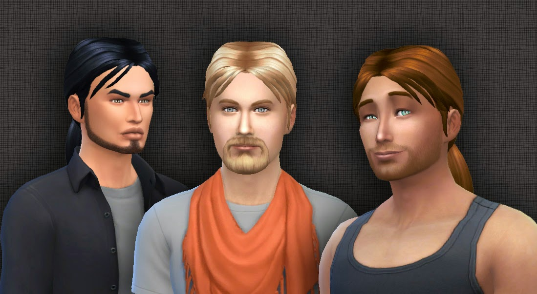Sims 4 Hairs  Mystufforigin Low Ponytail for males