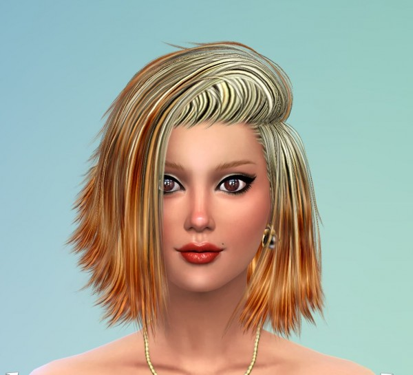 Sims 4 Hairs Mod The Sims 50 Re Colors Of Stealthic