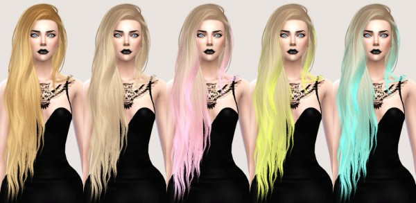 Sims 4 Hairs Salem2342 Stealthic Aquaria Hairstyle