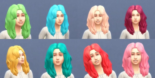 Sims 4 Hairs Mod The Sims Get To Work Hairstyles In
